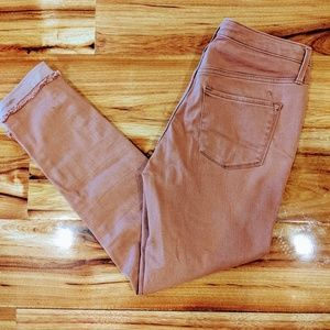 Mossimo High Rise Skinny Jeans Pink